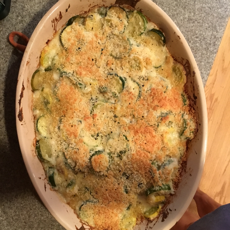 Cheesy Zucchini Gratin sfmobink