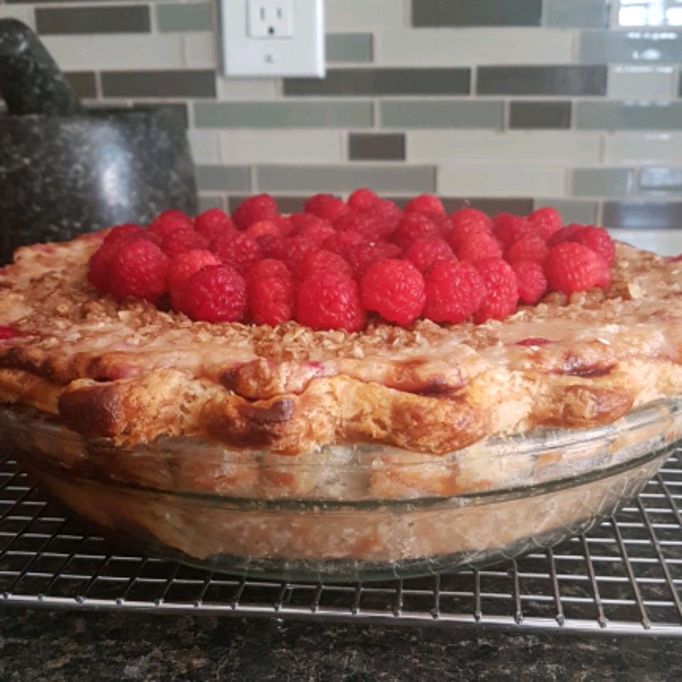 Sour Cream Raspberry Pie Rosianna Caccamo