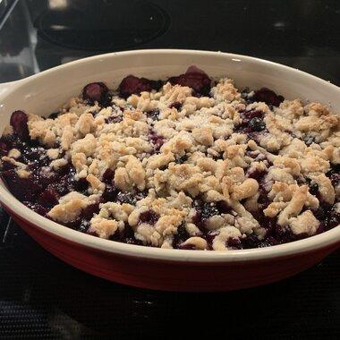 blueberry crisp ii recipe