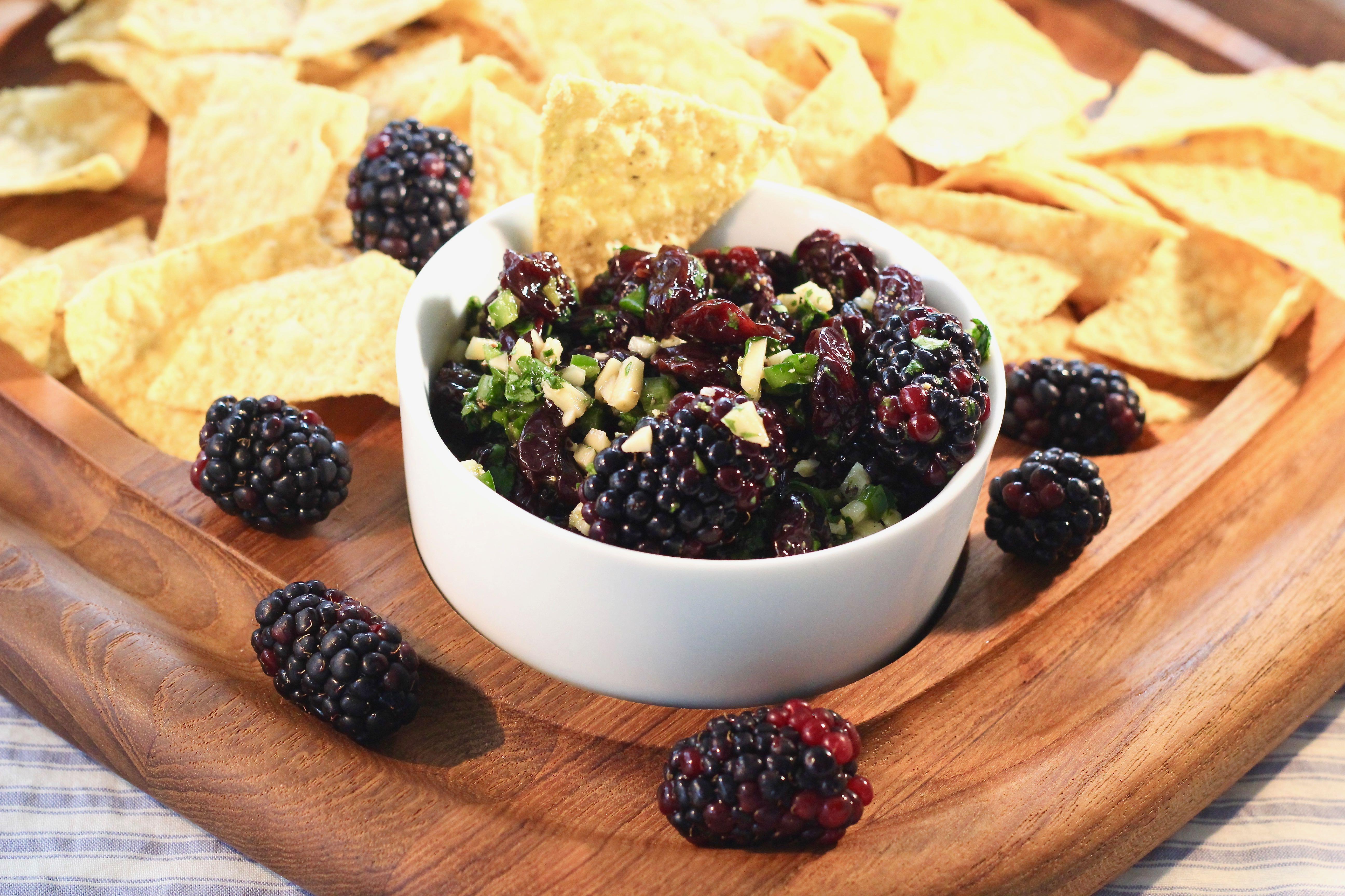 Blackberry-Cherry Salsa