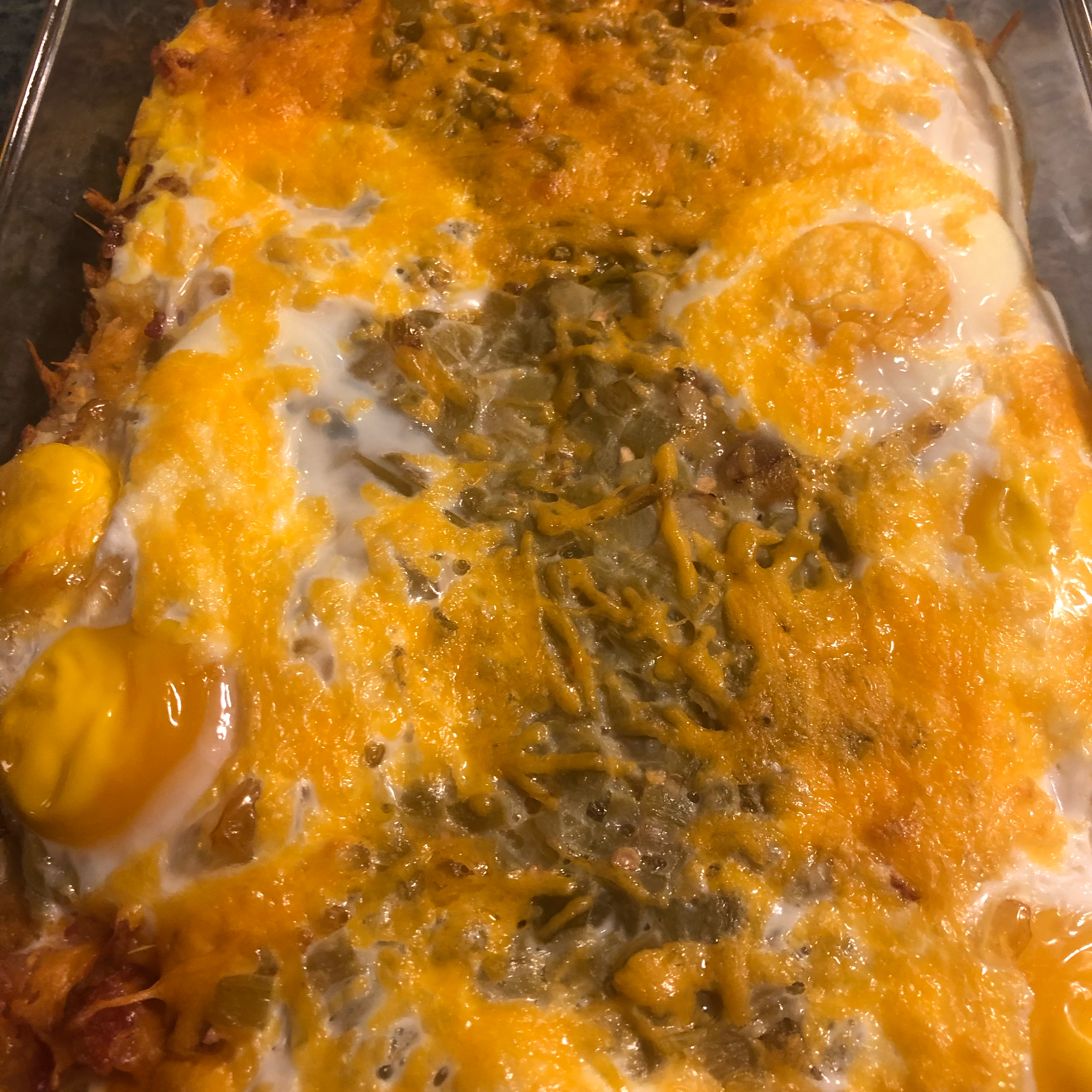 New Mexican Breakfast Casserole