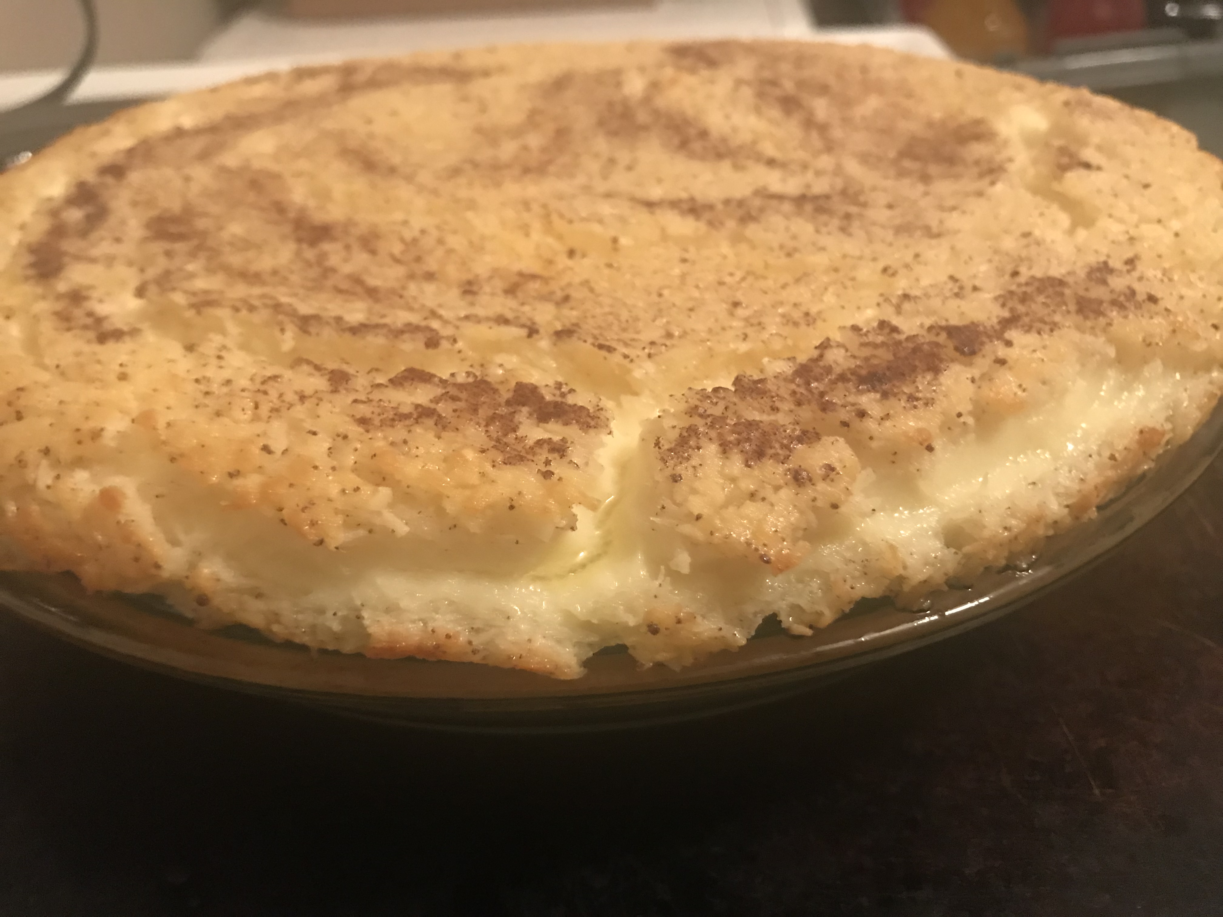 Impossible Coconut Pie II