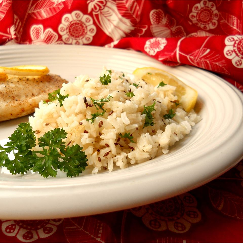 Lemon Dill Rice CookinBug