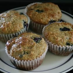 Health Nut Blueberry Muffins Gillian