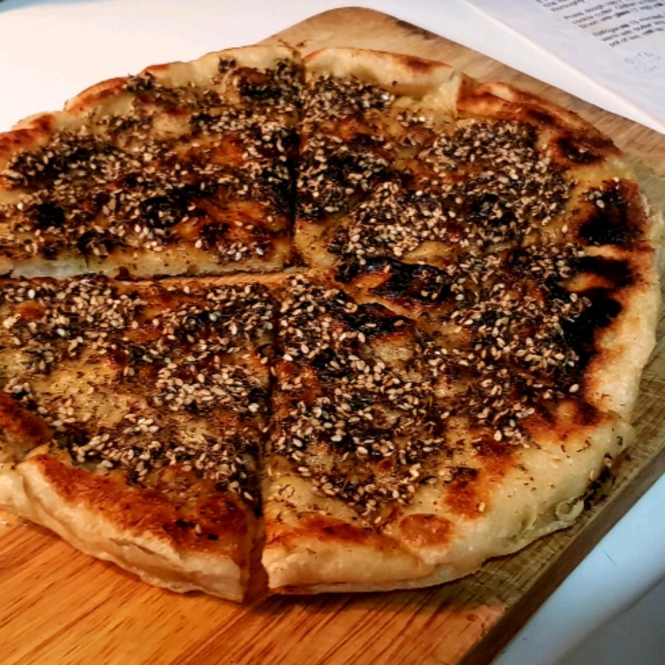 Lebanese Zaatar (Za'atar) Bread Gombeto