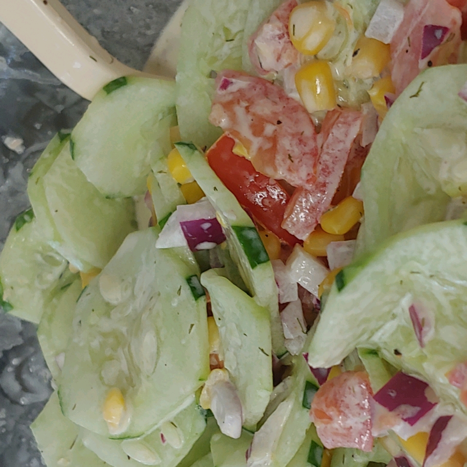 Wally's Cucumber Salad MRAD