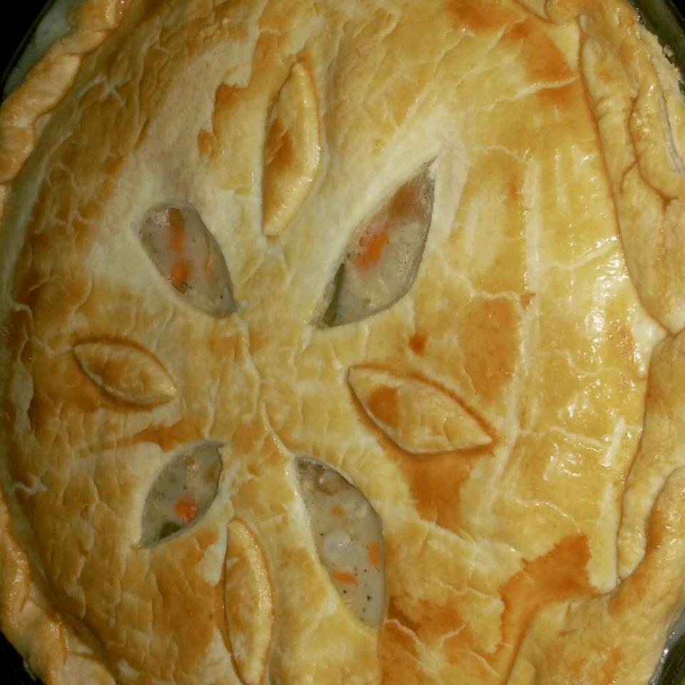 Old Fashioned Chicken Pot Pie Irma Trantham
