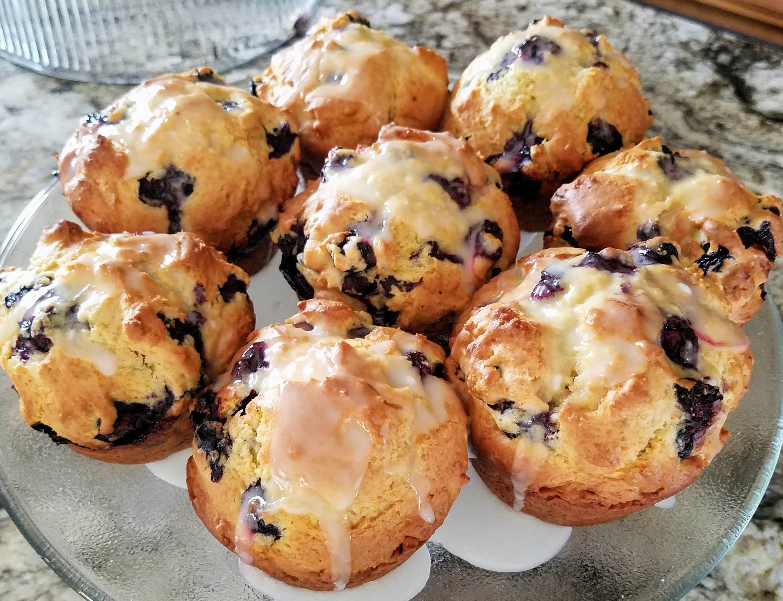 World's Best Lemon Blueberry Muffins teach678