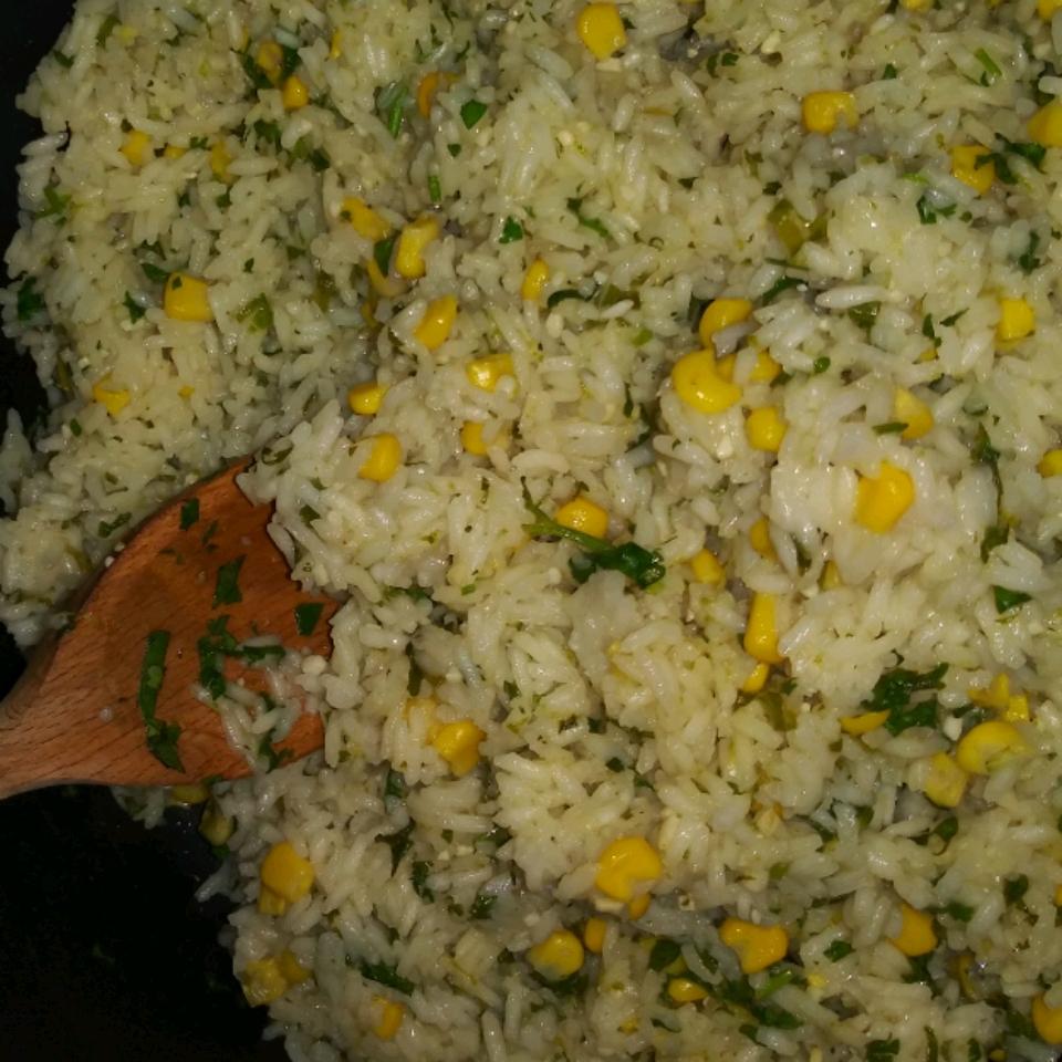 Easy Cilantro-Lime Rice