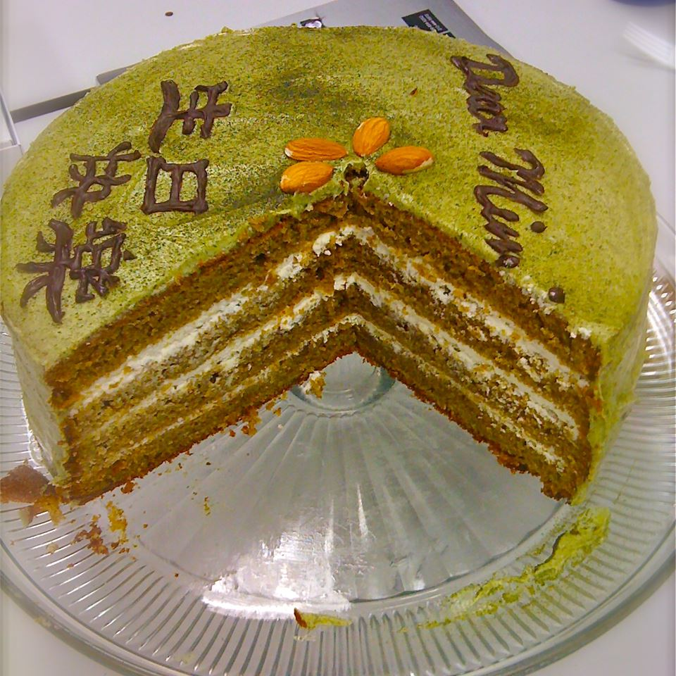 Green Tea Layer Cake TIRAMISUKI