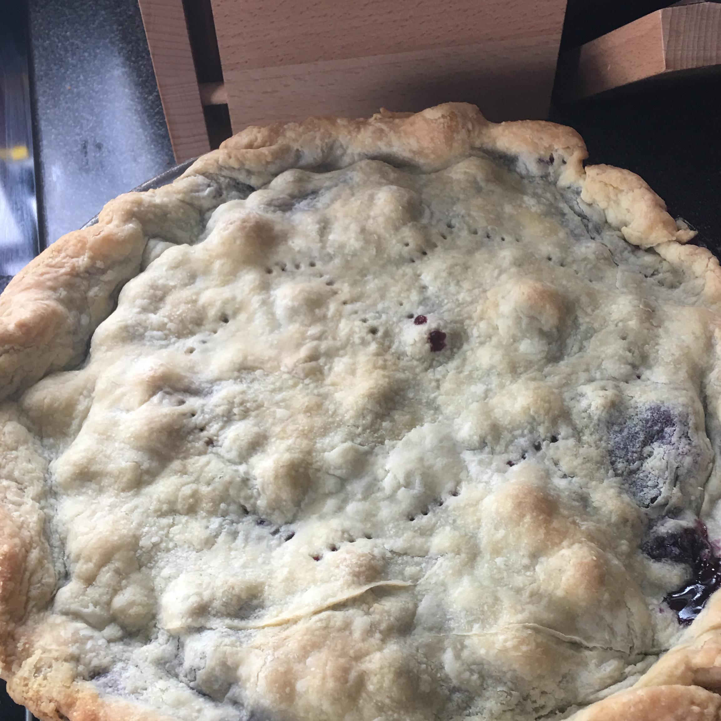 Fresh Blueberry Pie I