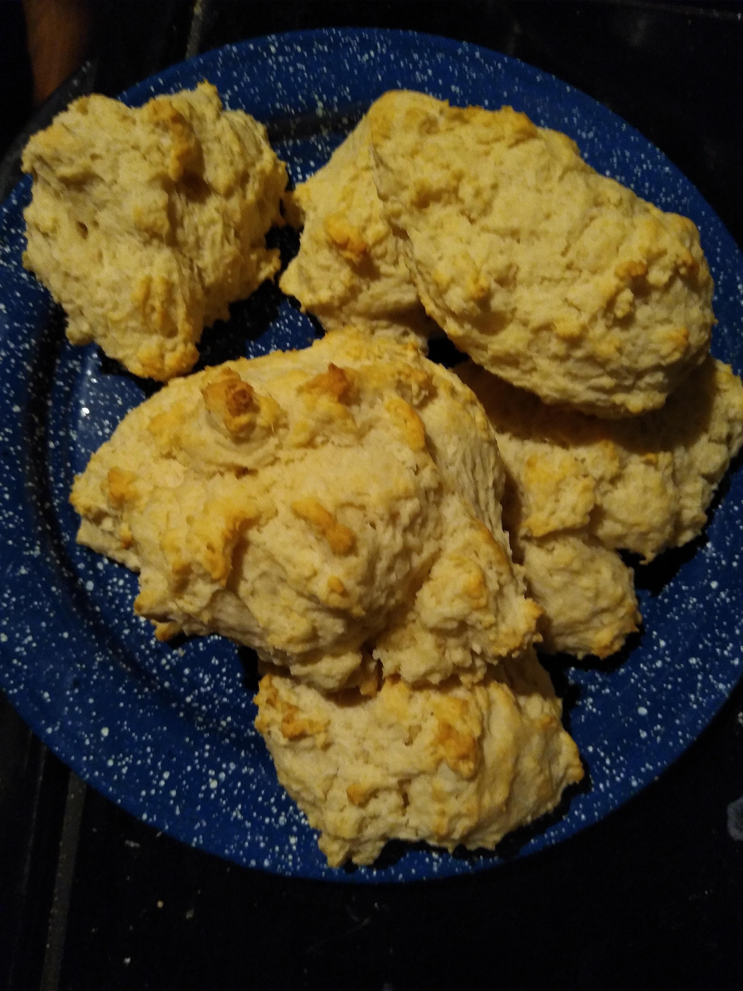 Easy Baking Powder Drop Biscuits