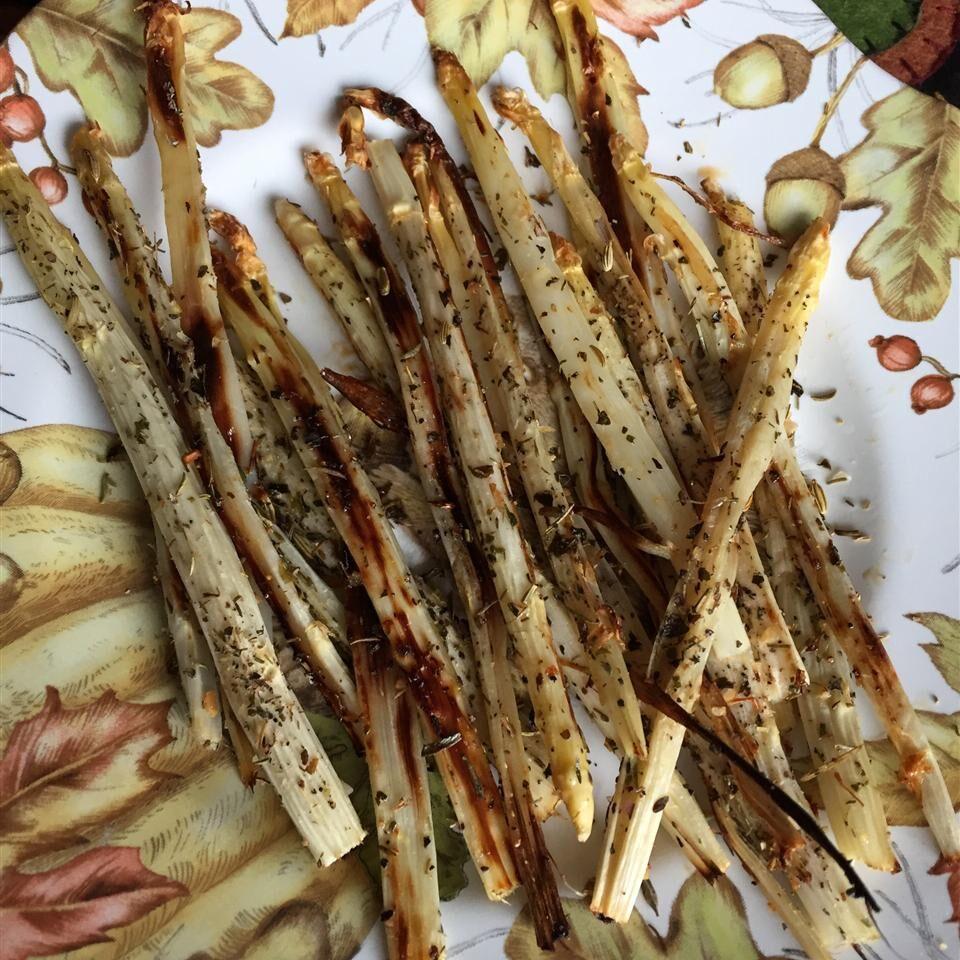 Roasted White Asparagus with Herbes de Provence Julie Julie