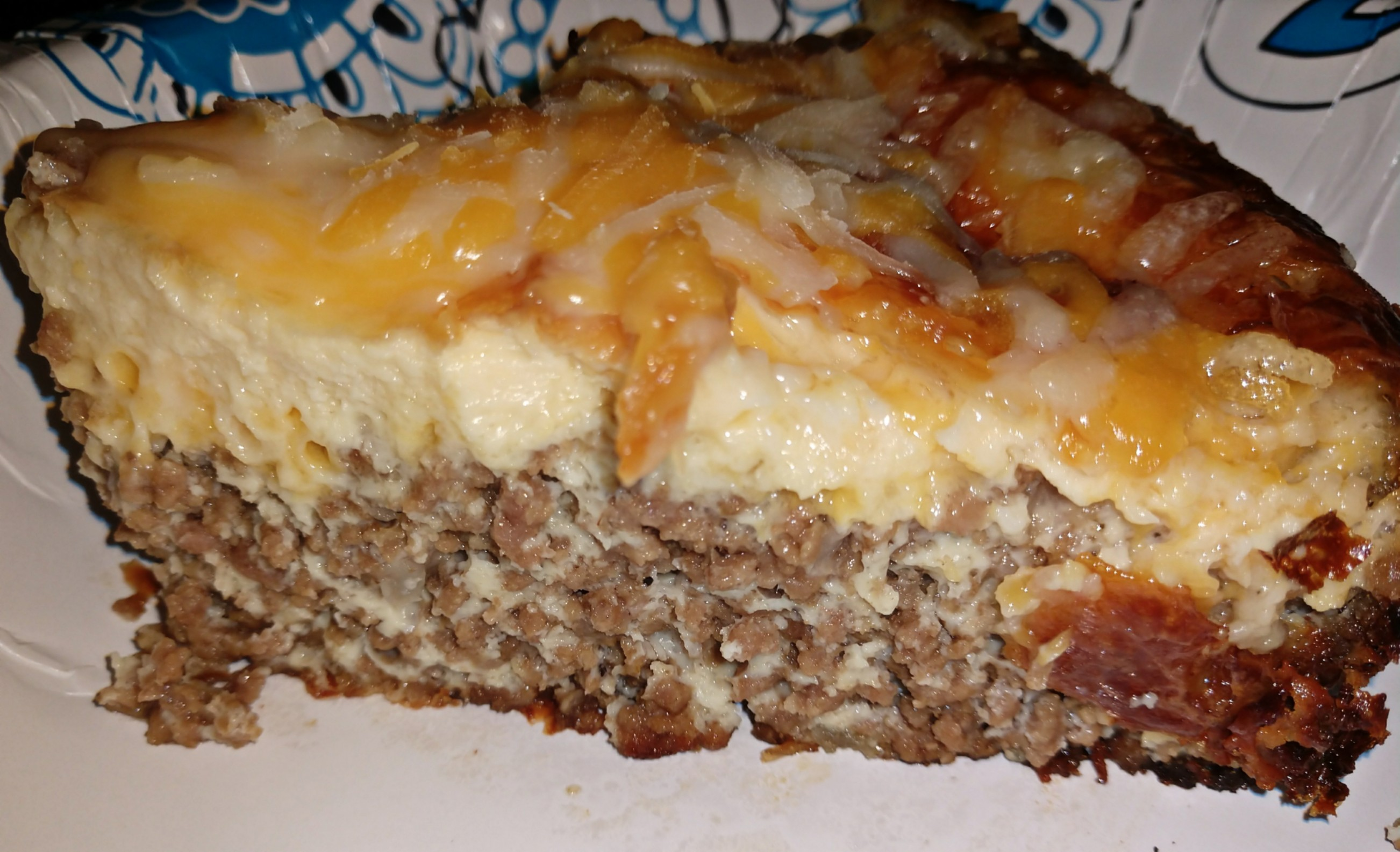 Crustless Cheeseburger Quiche Courtney Calkins