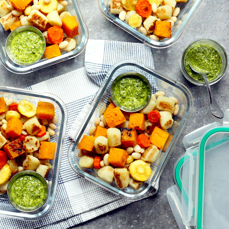 Roasted Butternut Squash & Root Vegetables with Cauliflower Gnocchi Trusted Brands