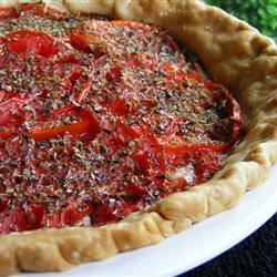 Tarte aux Moutarde (French Tomato and Mustard Pie) abapplez