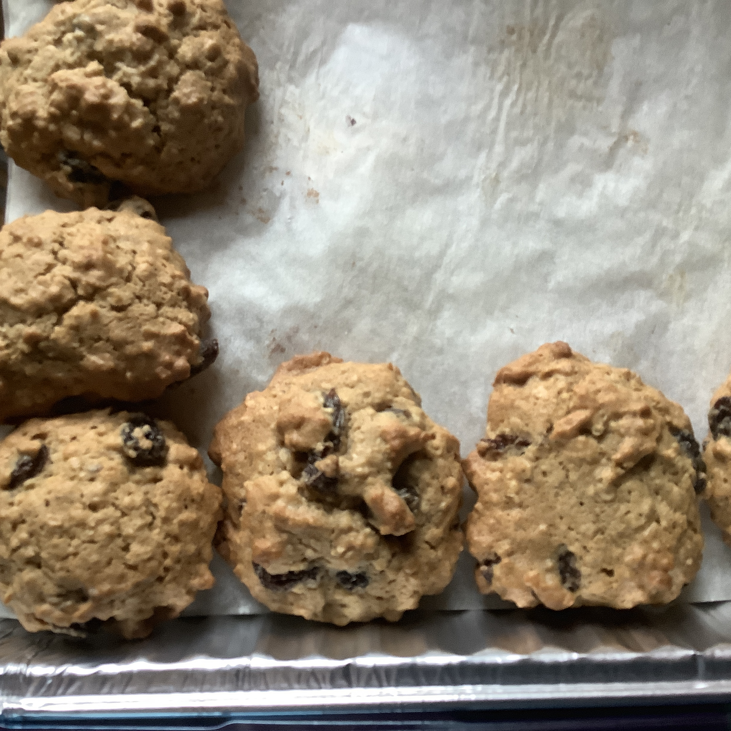 Old Fashioned Oatmeal Cookies Kim Miller