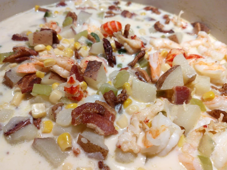 Shrimp Corn Chowder Tonya Rolf