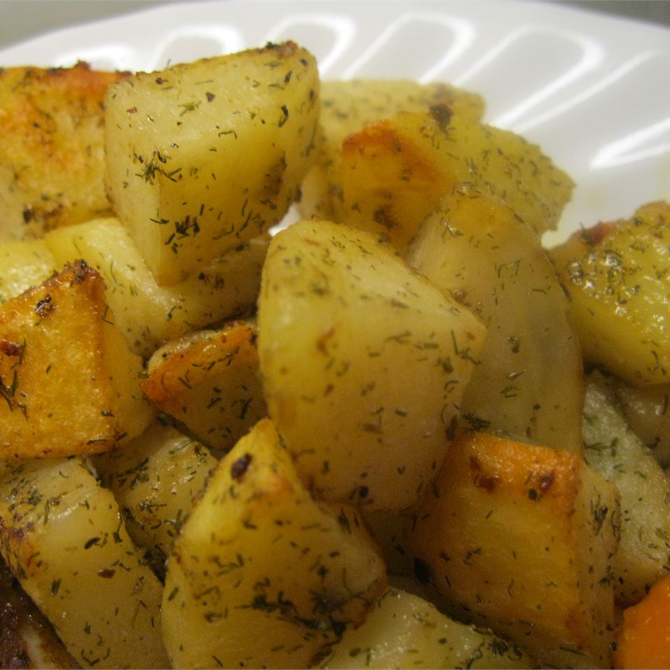 Laura's Lemon Roasted Potatoes