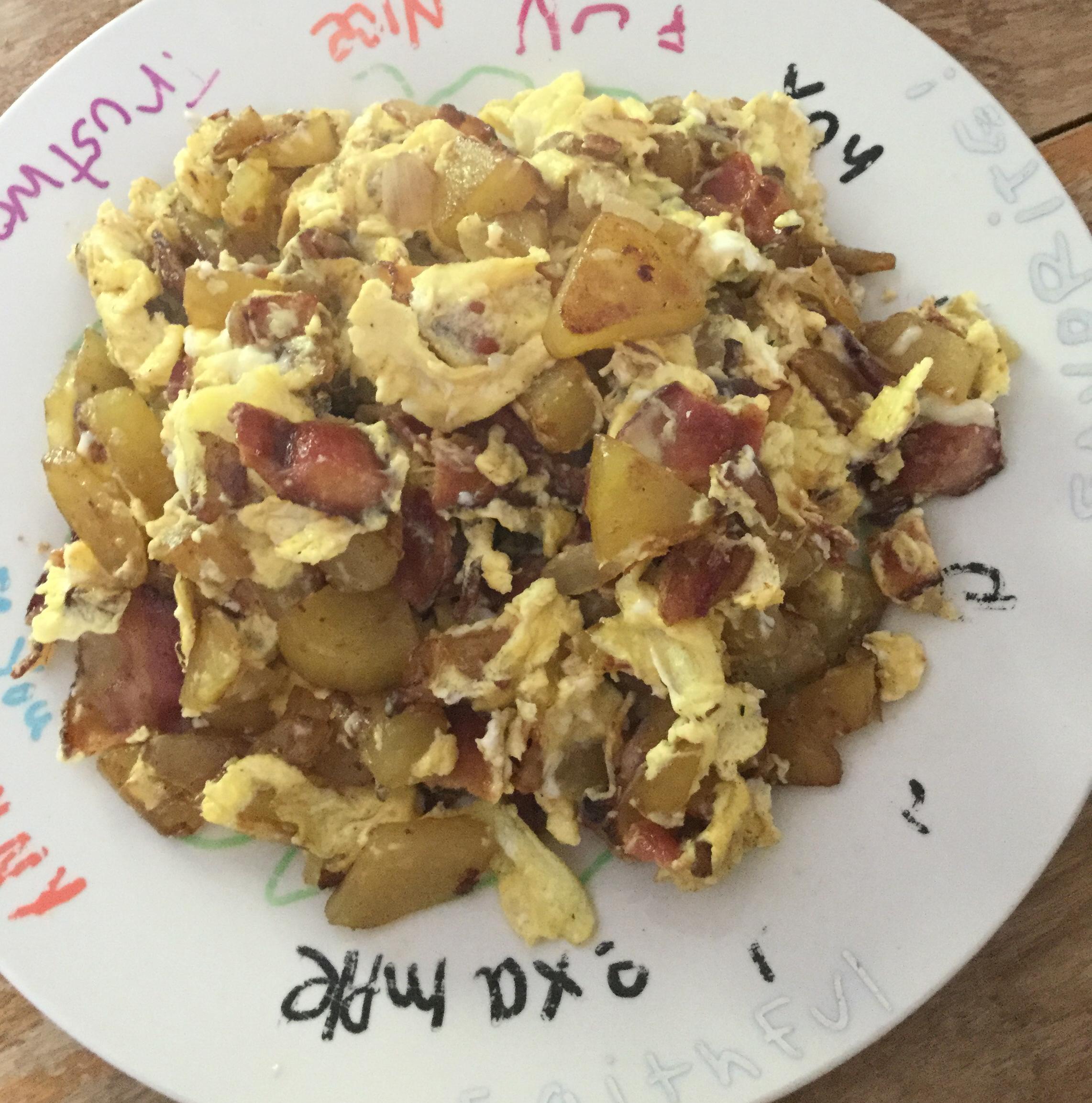 Camp Breakfast Kate