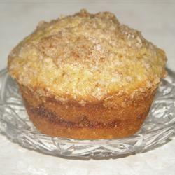 Cinnamon Streusel Orange Muffins Casablancaise