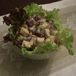Fruited Tofu Curry Salad DKWAHINE