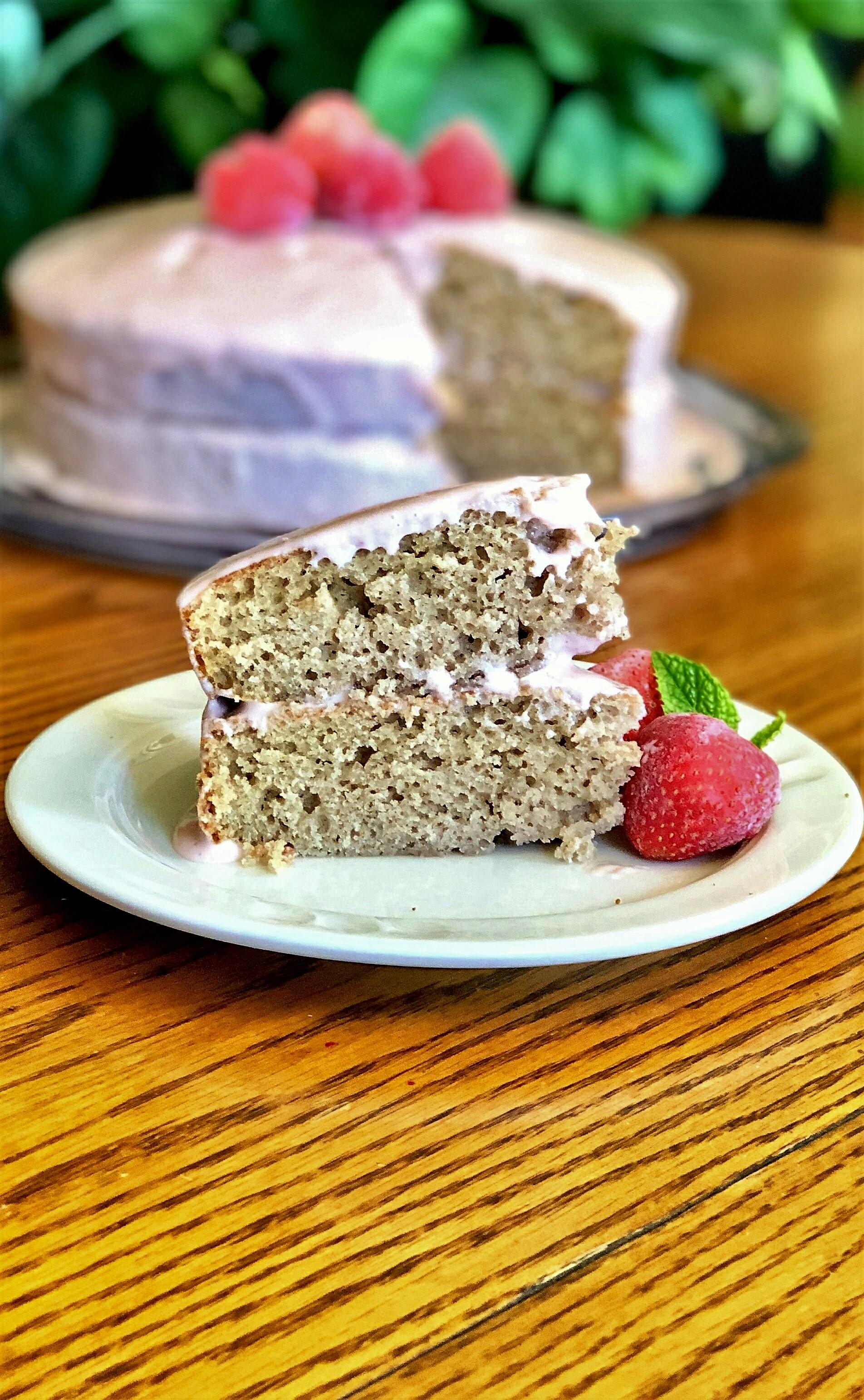 Fresh Strawberry Layer Cake