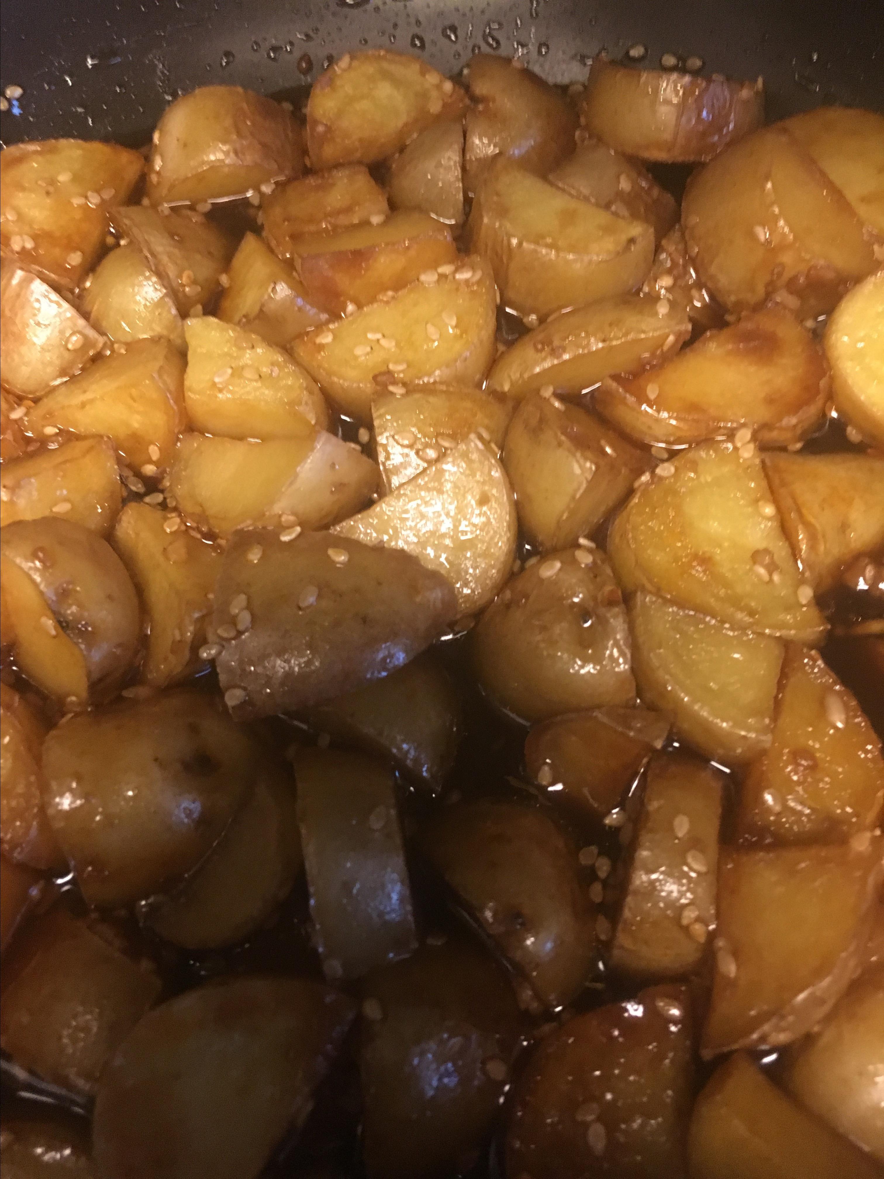 Korean Potatoes Ihatedoggo