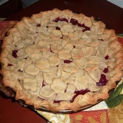 Buttery Cranberry Pie Zory