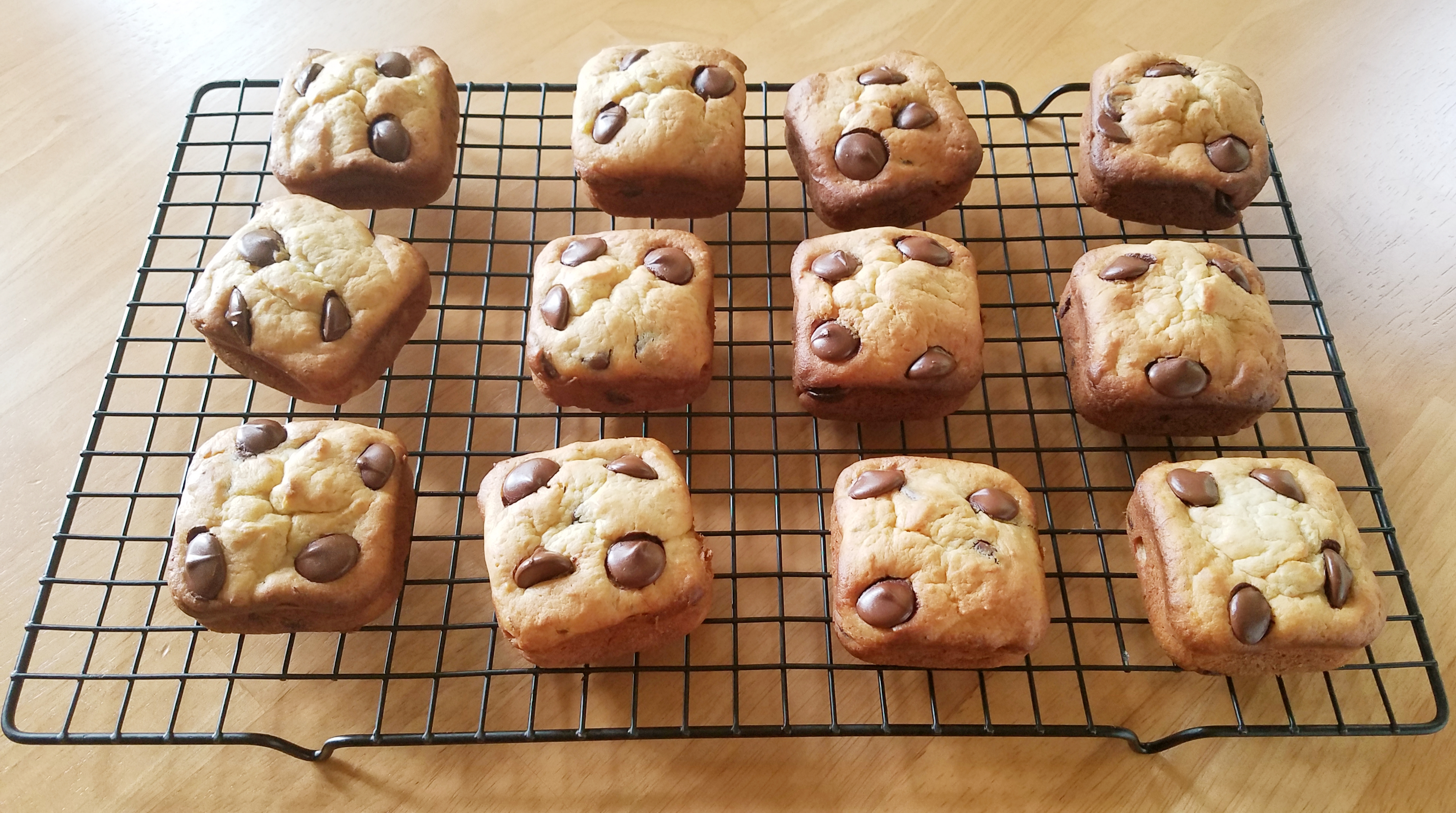 Ghirardelli Chocolate Chip Mini Banana Loaves Casablancaise