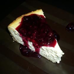 White Chocolate Blueberry Cheesecake ajfuller16