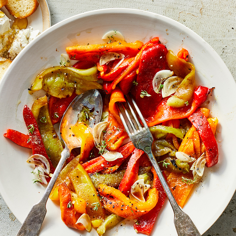 Basic Grilled or Roasted Peppers Adam Hickman