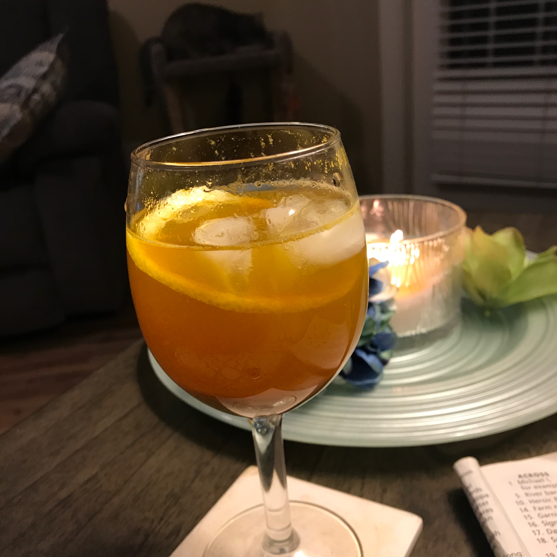 Ginger-Turmeric Herbal Tea luvs2write