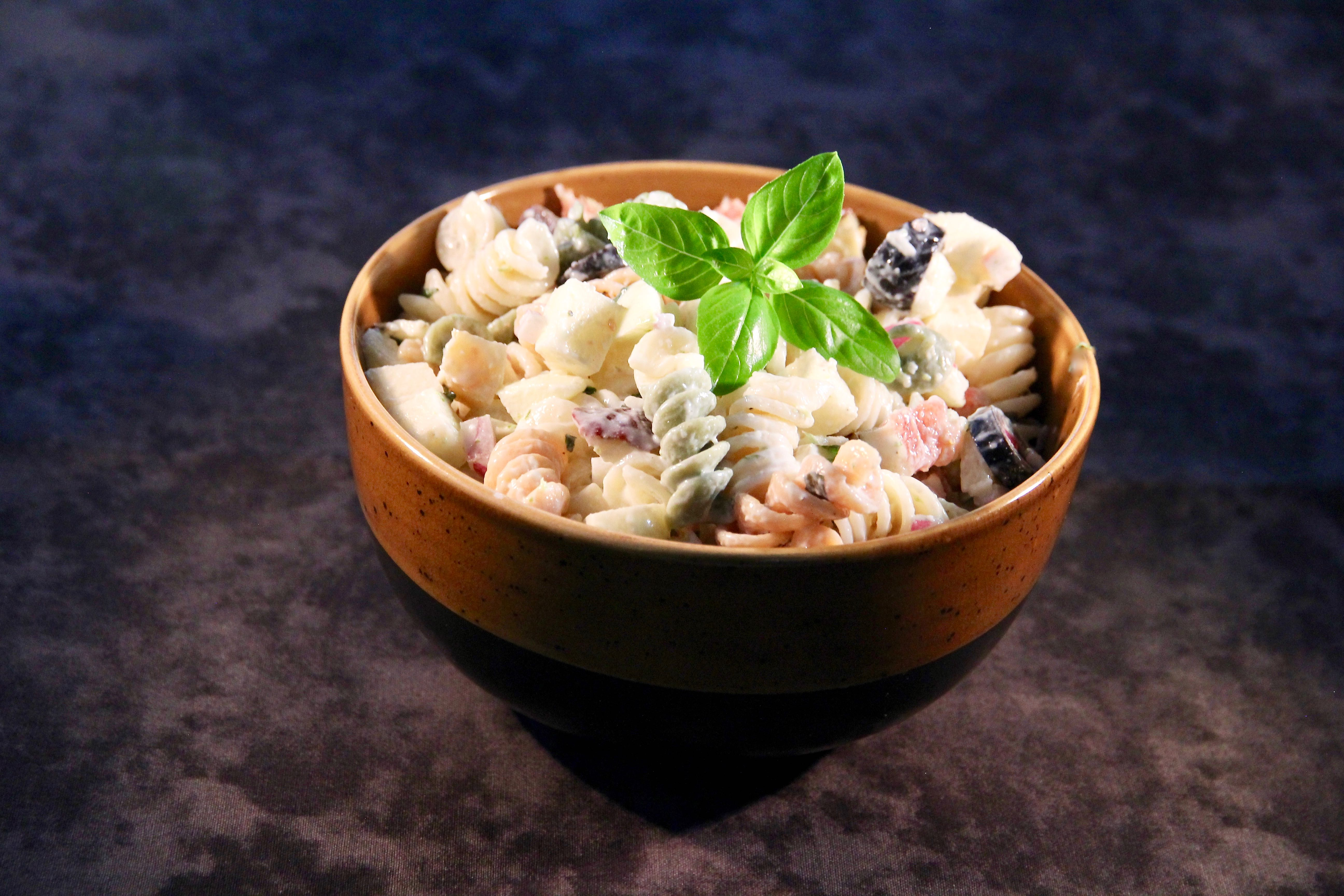Fruity Pasta Salad with Herbs