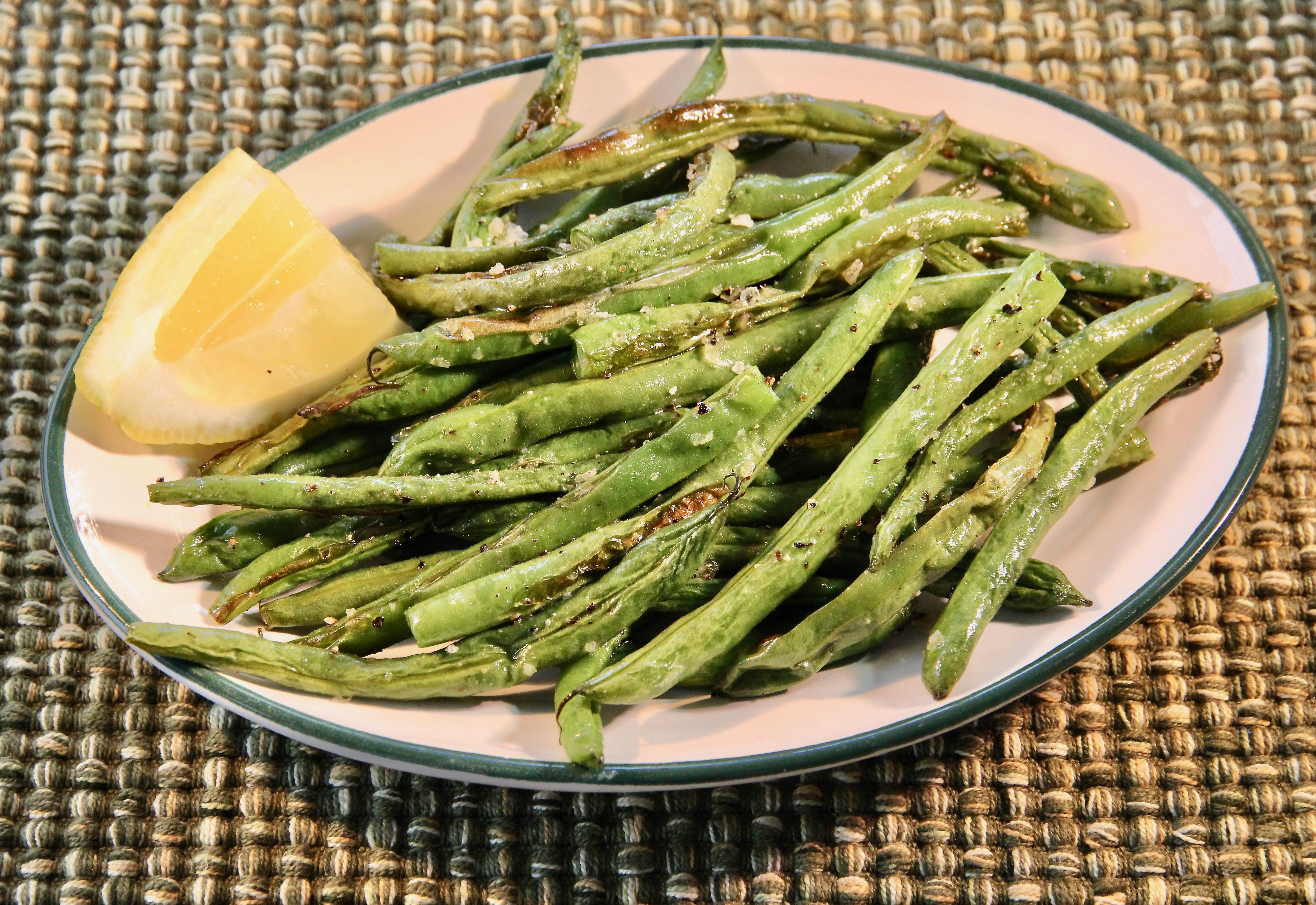Anne's Amazing Roasted Green Beans