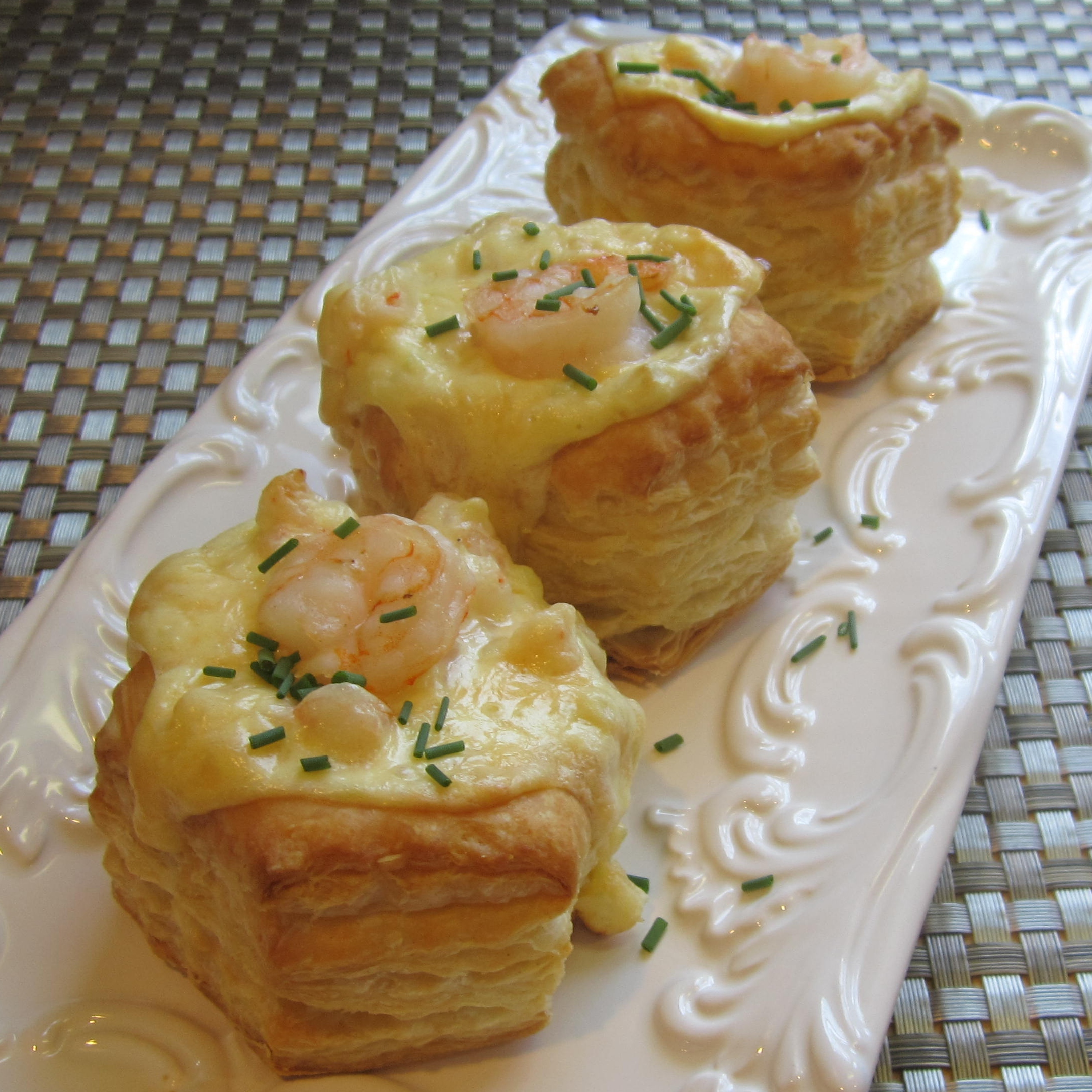 Shrimp Scampi Cheesecake Appetizer