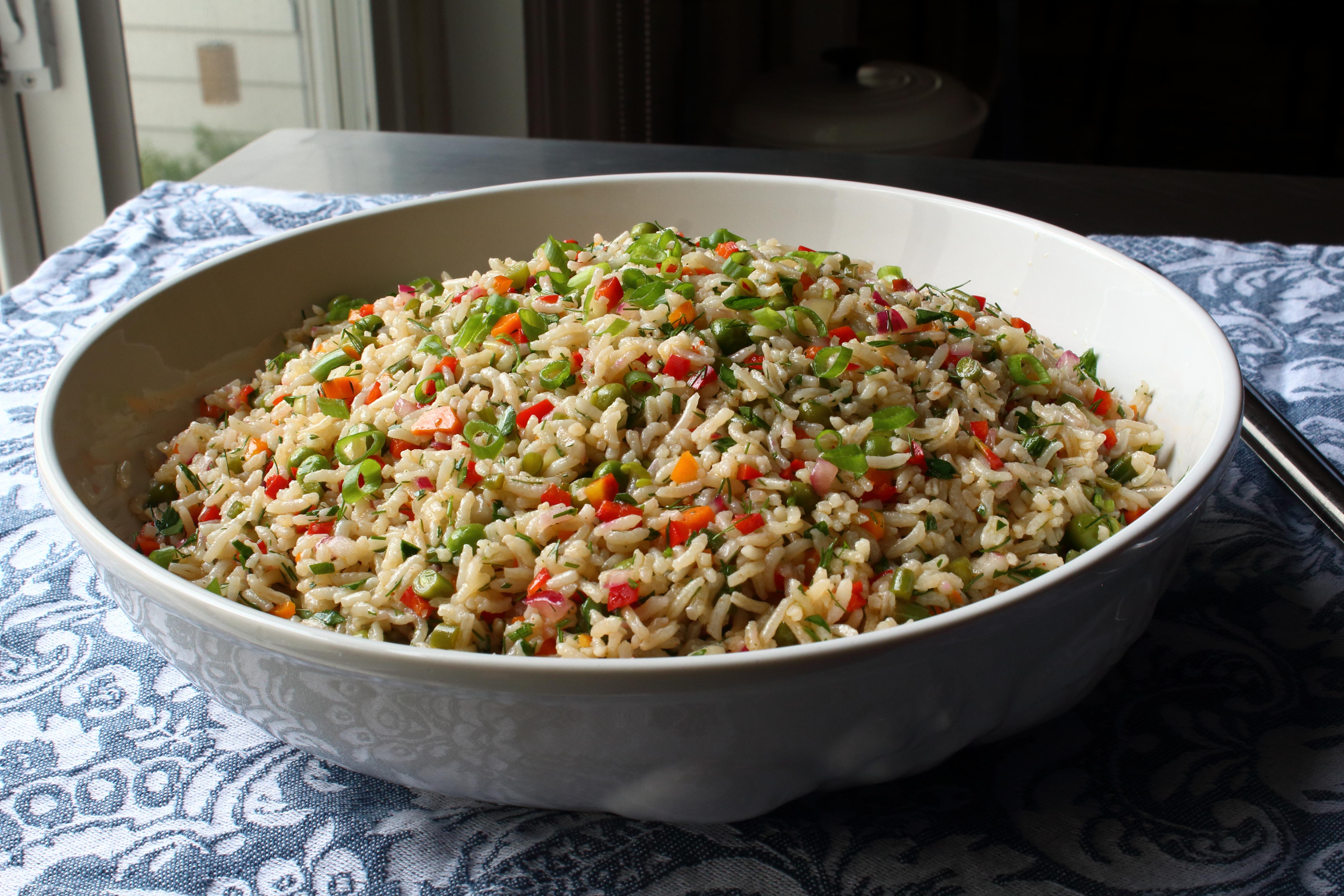 Confetti Rice Salad Chef John