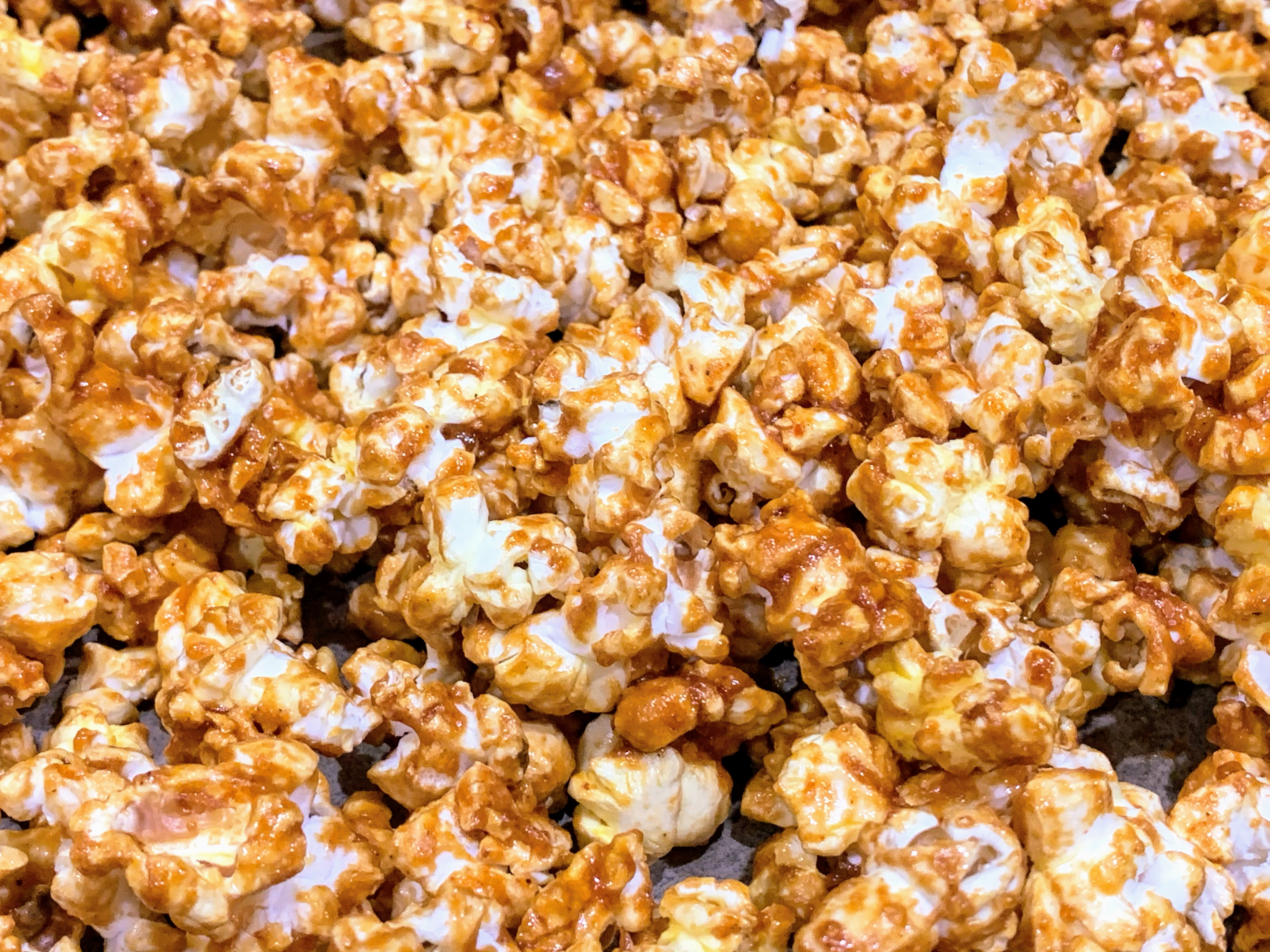 Spicy-Sweet Buffalo Popcorn Jeannine Brisson Amodeo