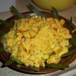 Cajun Pineapple Salad THEGARNERSISTERS