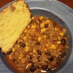 Black Bean, Corn and Turkey Chili Dominic Morano