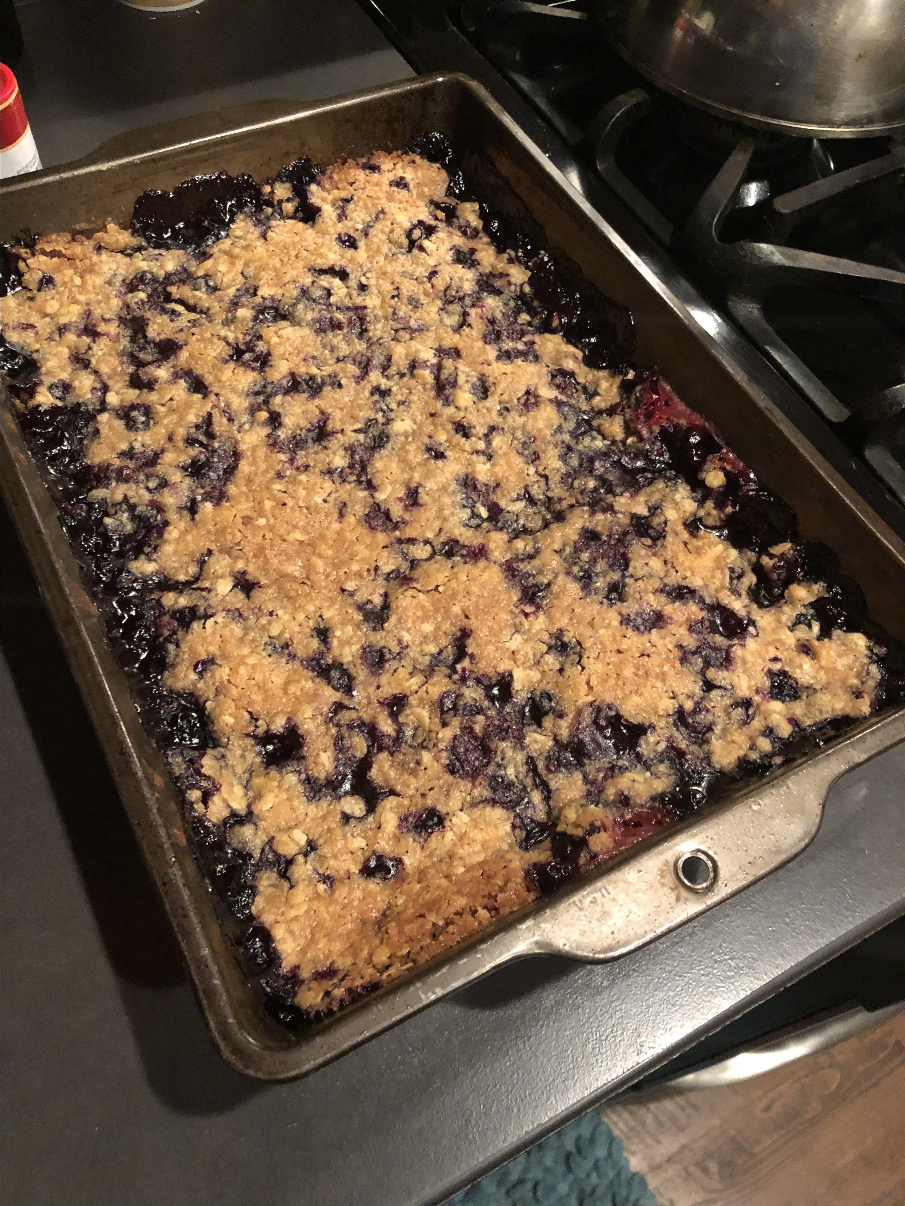 Huckleberry Crisp