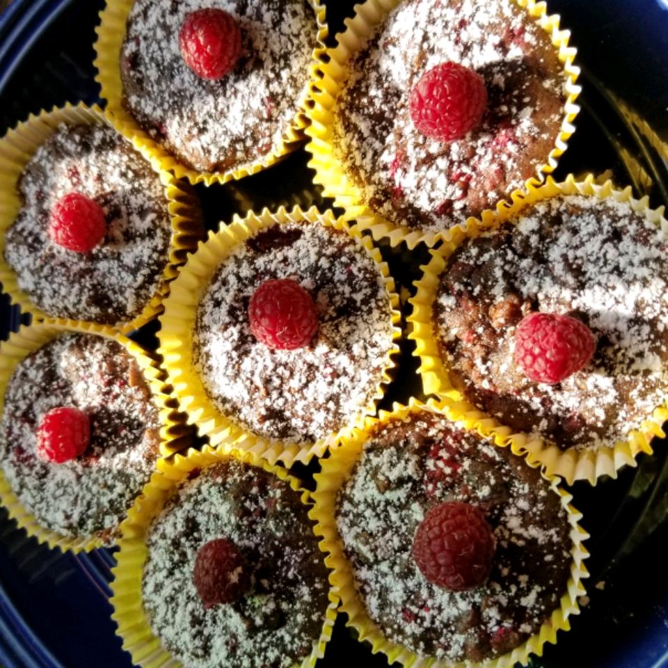 Zucchini Raspberry Cupcakes L. Dickson