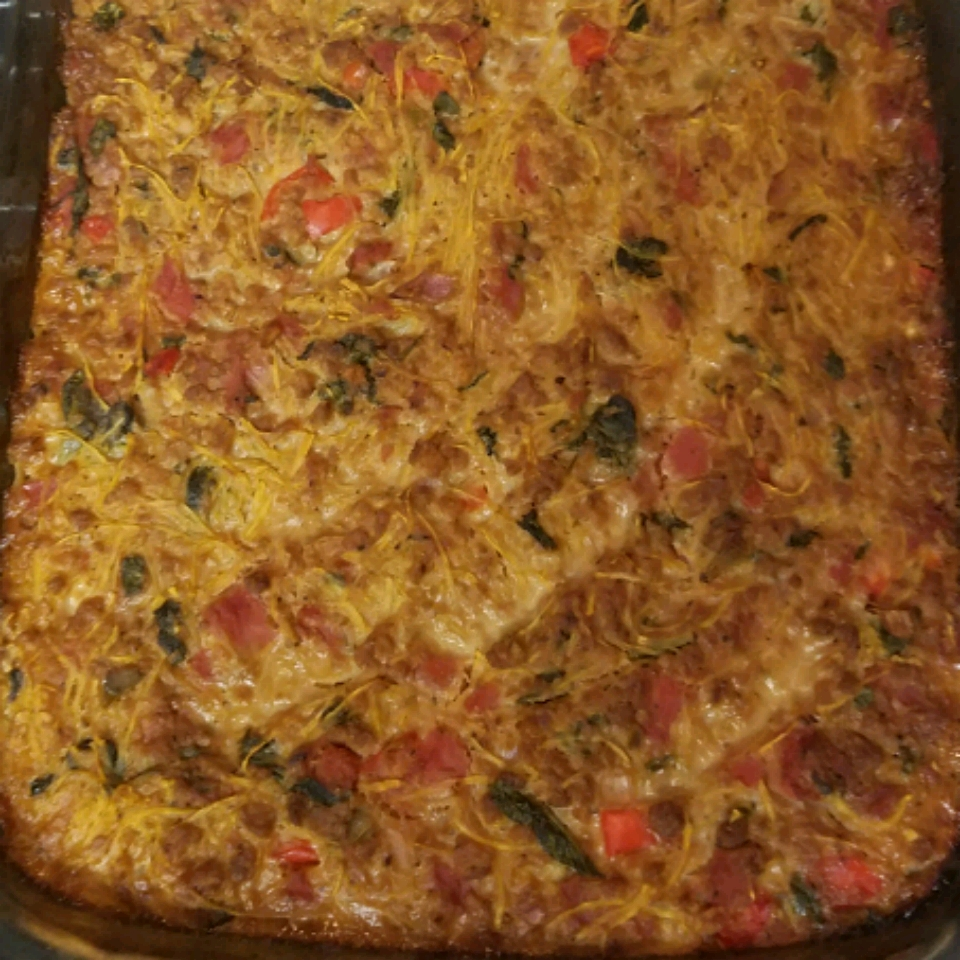 Spaghetti Squash Pie (Gluten Free and Dairy Free) Jen Erin Sopas-Larsen