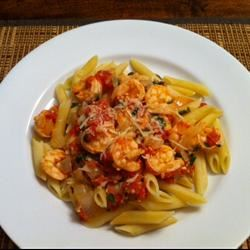 Spicy Shrimp and Tomato Scampi ALLRYTIE
