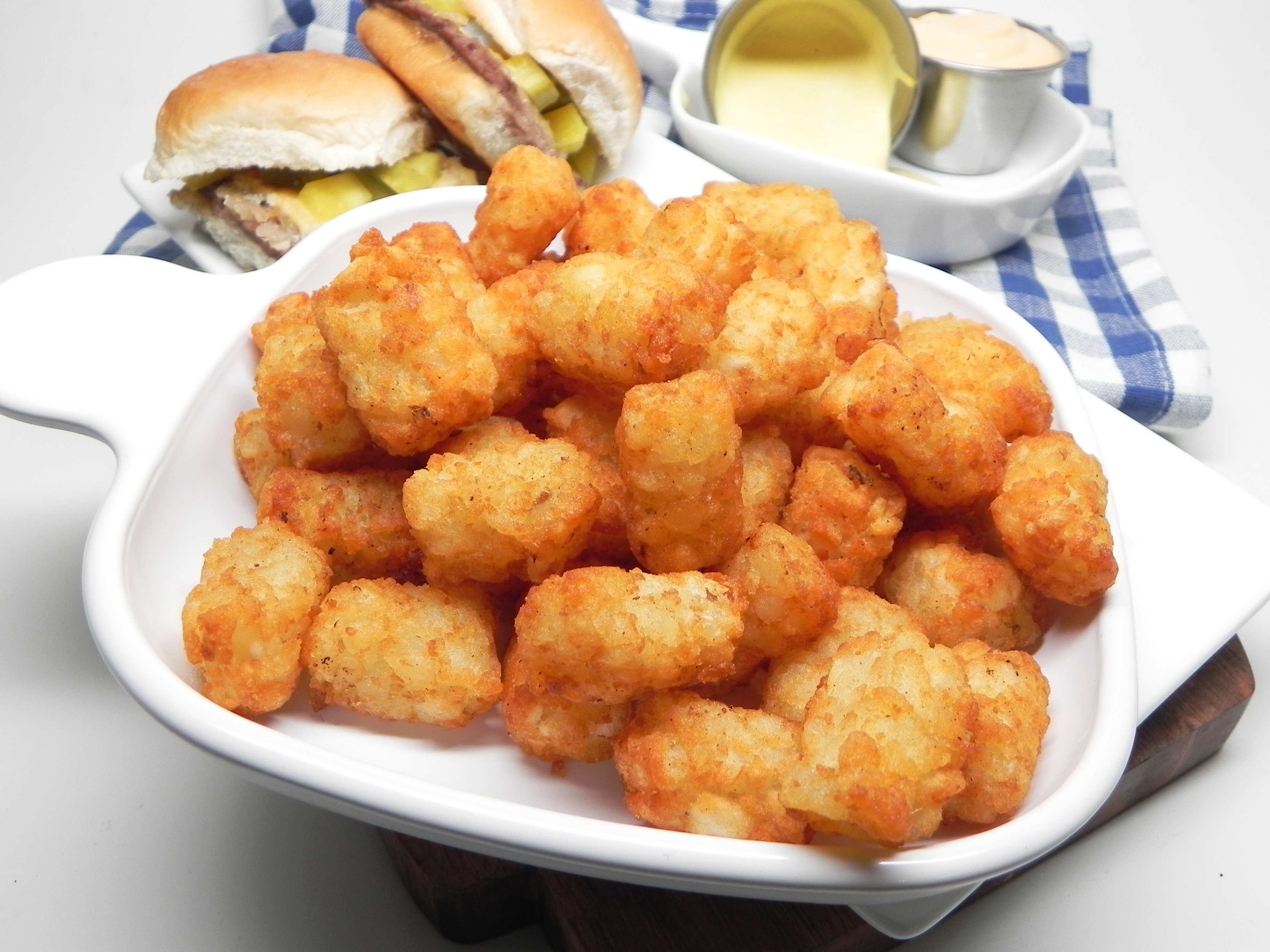 Air Fryer Tater Tots® Soup Loving Nicole