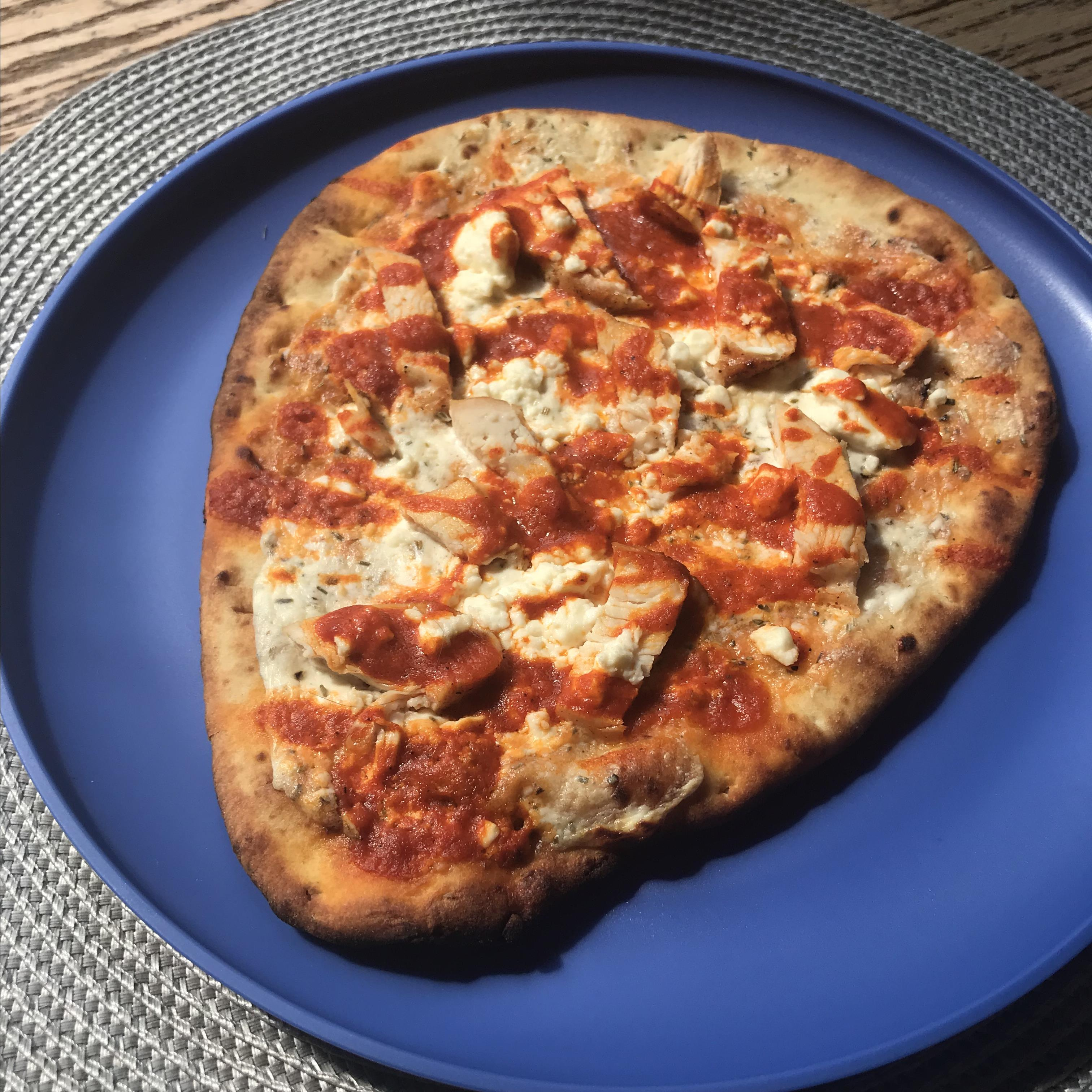 Buffalo Chicken Naan Pizza Luke Summers