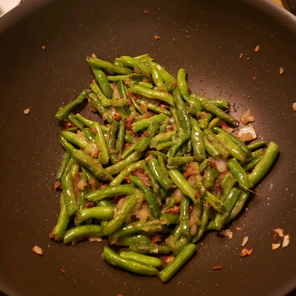 Sauteed Garden Fresh Green Beans Keith Spealman