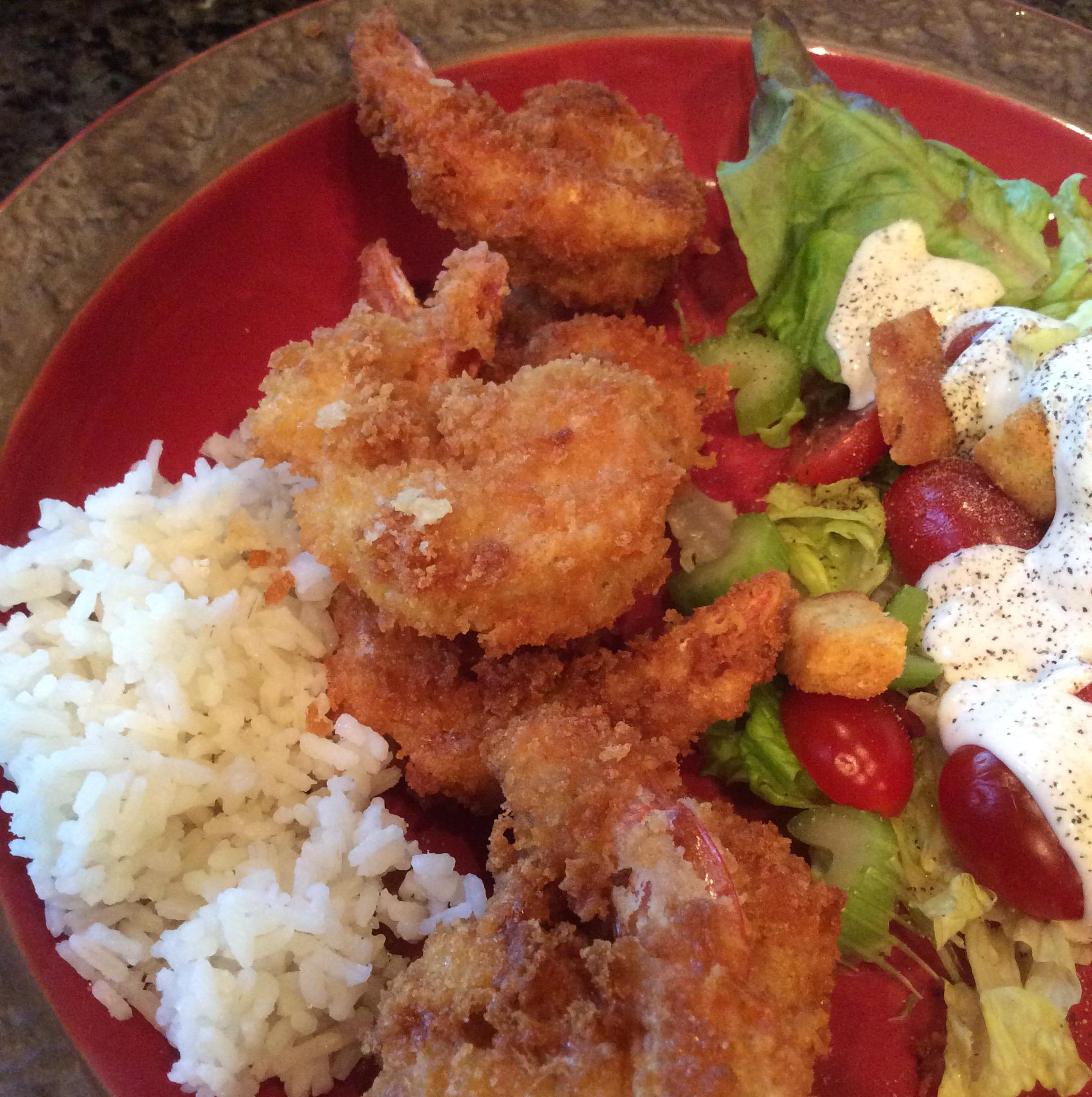 Japanese-Style Deep-Fried Shrimp