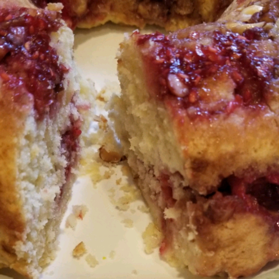 Fresh Berry Coffeecake Jo Ann Gallardo