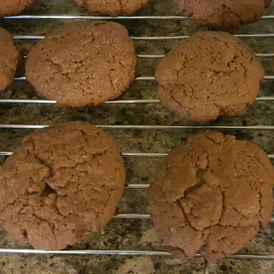 Eggless Chocolate Peanut Butter Cookies oldestkerngirl